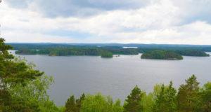 Näkymä Vehoniemen näkötornista. Kuva: KS arkisto