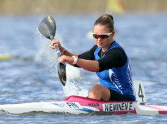 KaMen nuori Emma Nieminen oli mitalitilaston ykkönen SM-melonnoissa.