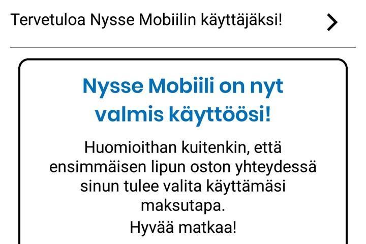 Nysse Mobiili