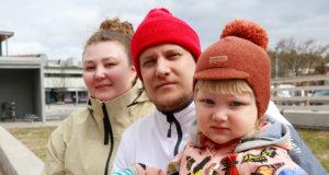 Puhakan perheen vappusuunnitelmiin kuuluu mökkimatka Luhankaan.