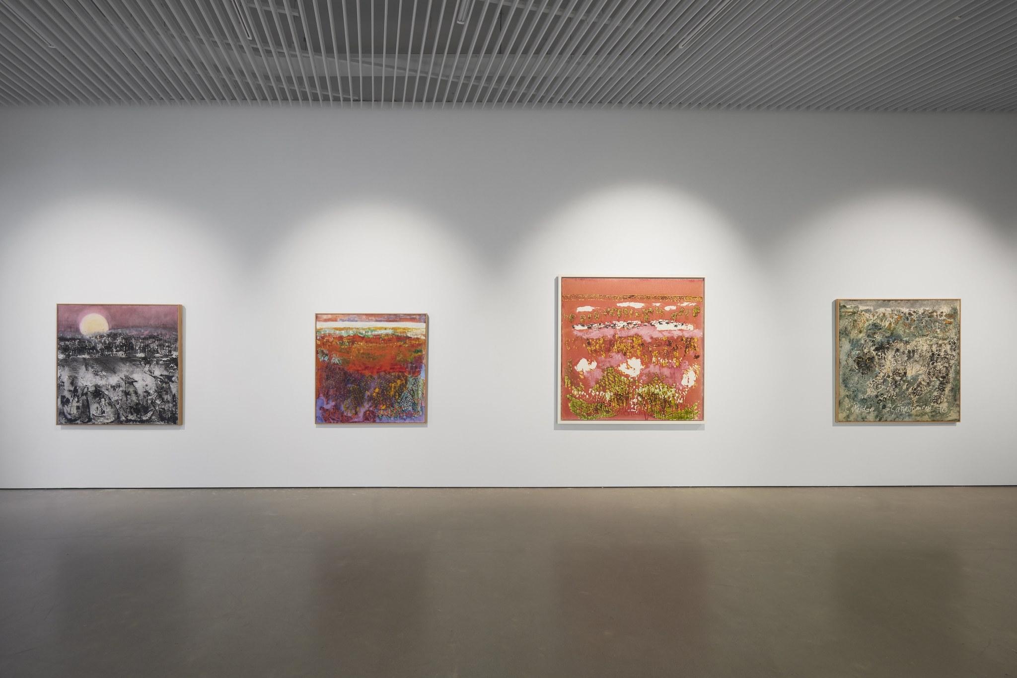 Reidar Särestöniemi -näyttely on esillä viimeistä viikkoa Kimmo Pyykkö -taidemuseossa. Kuva: Jussi Koivunen.