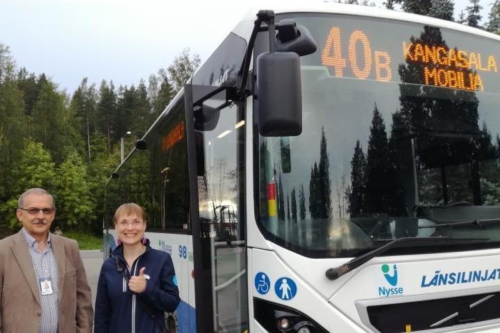 Mobiliaan p see vihdoin linja autolla kangasalan sanomat for Linja 40 mobilia