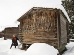 Museoviraston suojelemassa jyväaitassa on näkyvillä vielä vanhaa päreseinää. Sukututkimuskouluttaja Riikka Piironen kertoo, että, Mattilassa on säilynyt rakennuksia 1800-luvulta asti.