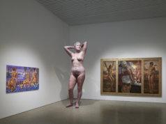 Naisten kuvia – Teoksia Heinon taidesäätiön kokoelmasta -näyttely Kimmo Pyykkö -taidemuseossa 23.1.–12.6.2021. Kuva: Jussi Koivunen.