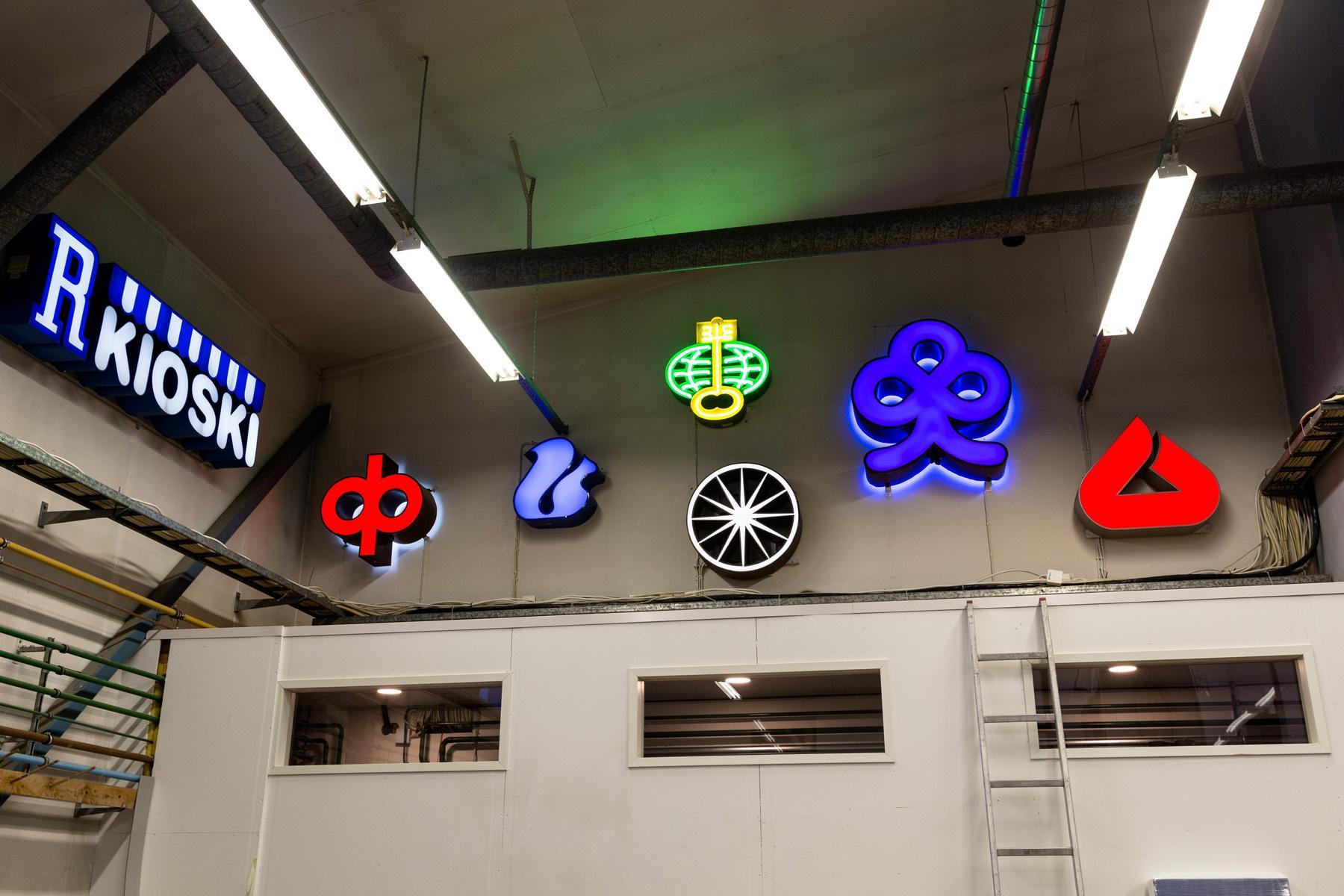 R-kioski on ollut Neonelektron asiakkaana yli neljäkymmentä vuotta.