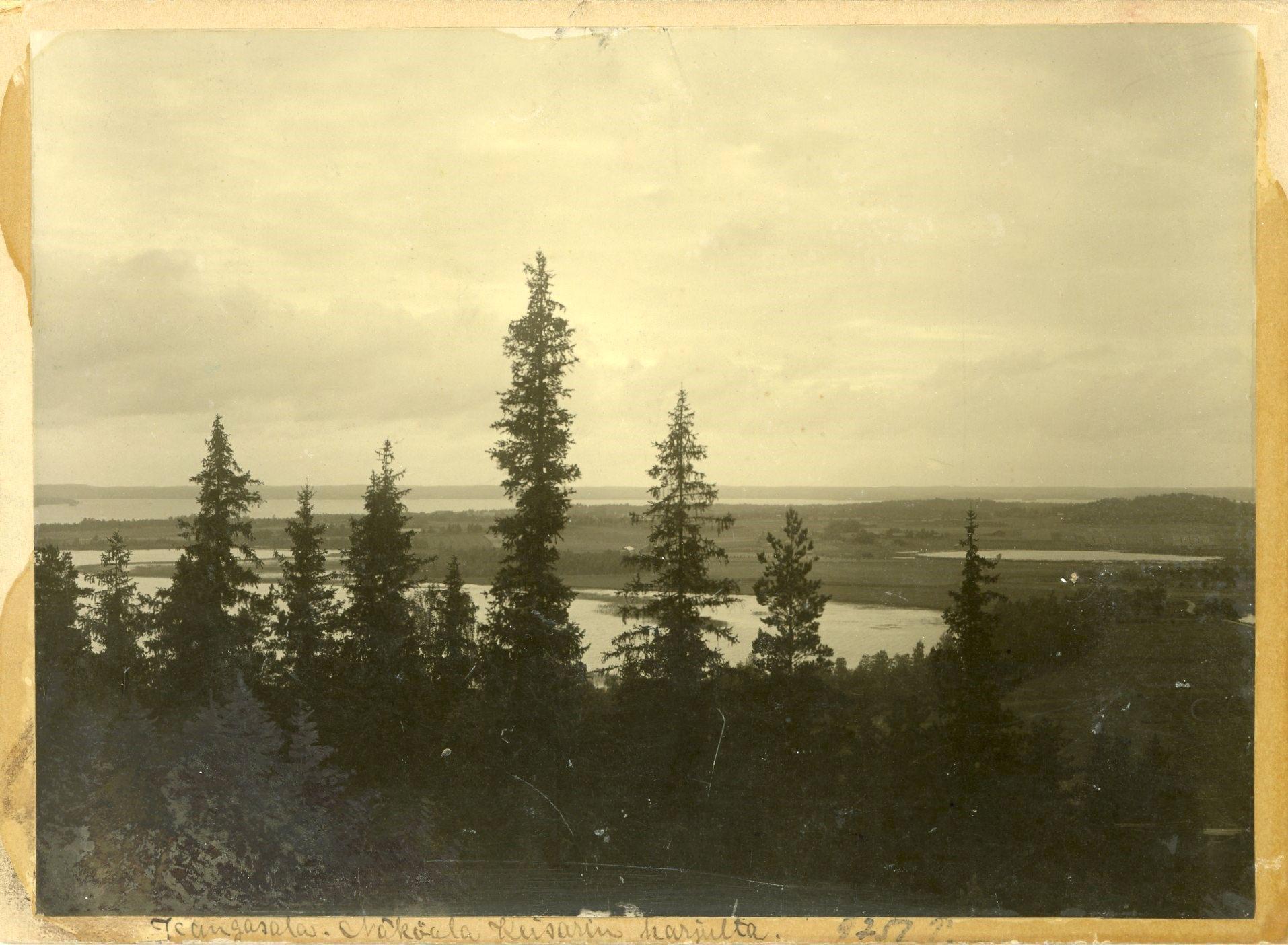 Kaupunki teettää arkeologisen selvityksen maaseutualueiden osayleiskaavan alueelle. Kuvassa oleva vanha Kangasala-postikortti kuuluu Ilkka Pikkolan kokoelmiin.