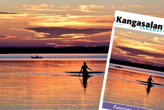 Tämän upean auringonlaskun kuvasi Kai Varpukari. Sen myötä lämmintä juhannusta kaikille KS-juhannuskalenteria seuranneille!