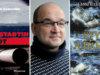Lassi Hakulisen (kuva kirjailijan omilta sivuilta) Kronstadtin varjot kustansi Bookcover Oy ja Syysjuhannus-kirjan Myllylahti Oy.