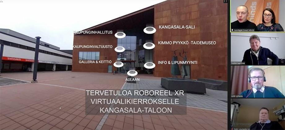Kangasala-talo ja Puristeteos Oy kiinnostivat Tampere Smart City Week 2021 -konferenssissa
