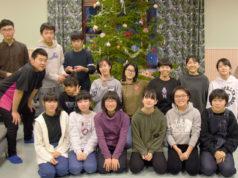 Kangasalle saavuttuaan japanilaisvieraat viettivät muutaman yön Vahderpään leirikeskuksessa.