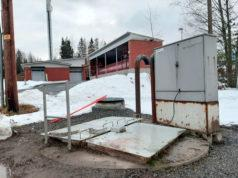 Veturitiellä sijaitseva jätevesipumppaamo peruskorjataan kevään aikana.
