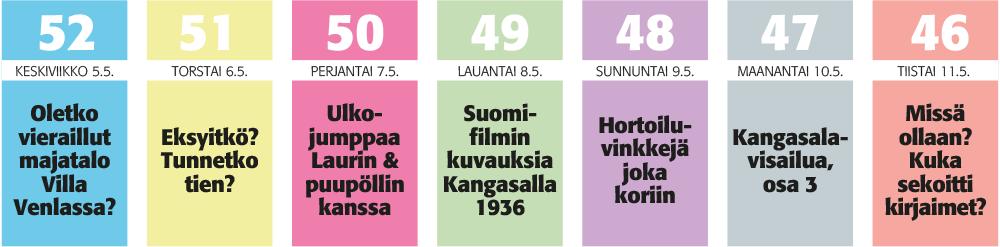 KS-juhannuskalenteri 2021