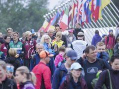 Heponiemen kisakeskukseen virtasi väkeä erityisesti lauantaina jopa tungokseksi asti. Viesteihin osallistui kilpailijoita 23 maasta.