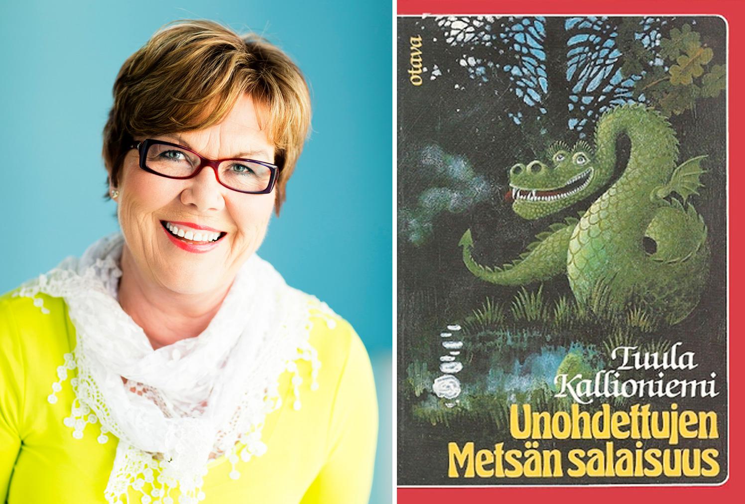 Tuula Kallioniemen sadussa vilahtaa tonttuja Liuksialasta ja Wääksystä. Kuva: Otava, Pekka Holmström 2013.