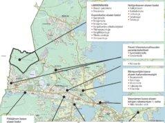 Kangasalan kaupungilla on tänä vuonna useita kadunrakennuskohteita. Grafiikka: Kangasalan kaupunki / Eija Koivu