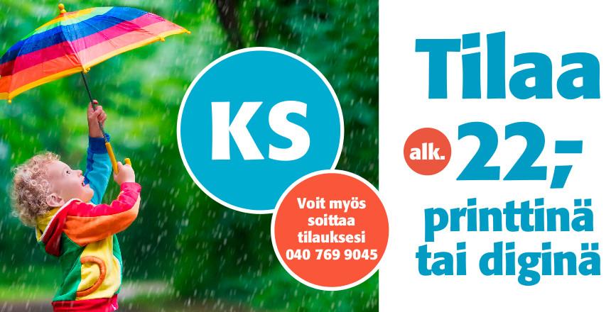 Tilaa alk. 22€ printtinä tai diginä