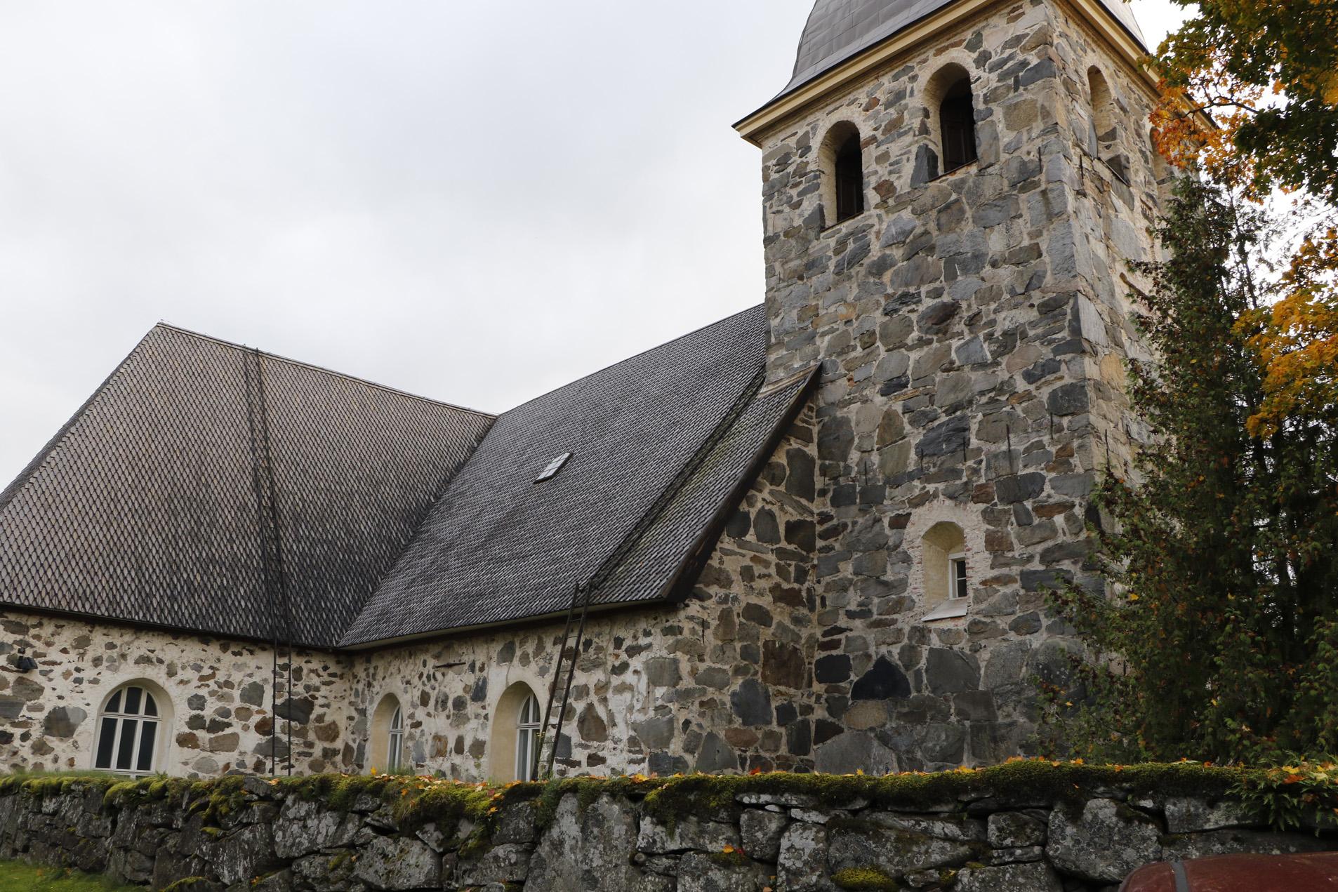 Kangasalan kirkko. Kuva: KS arkisto