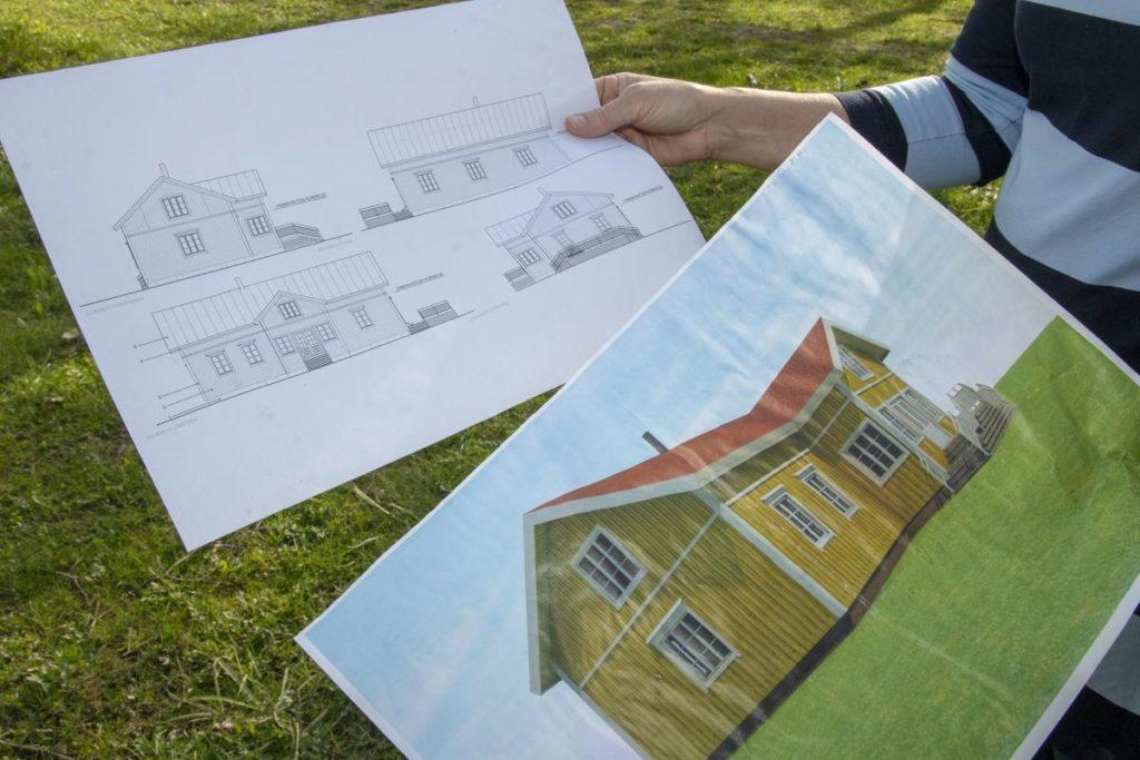 Suunnilleen tältä Tiitoloiden uusi koti tulee näyttämään valmistuttuaan.