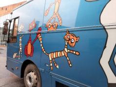 Kangasalan kirjastoauto jää lomalle ennen jouluaaton aattona.