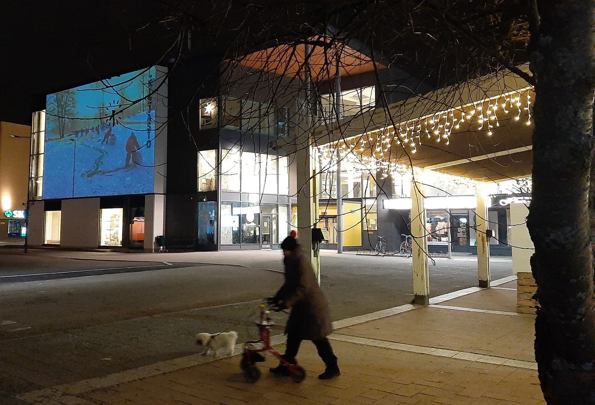 Kangasalan pääkirjasto kuuluu kulttuurikortteliin, jonka brändiä halutaan lähivuosina vahvistaa.