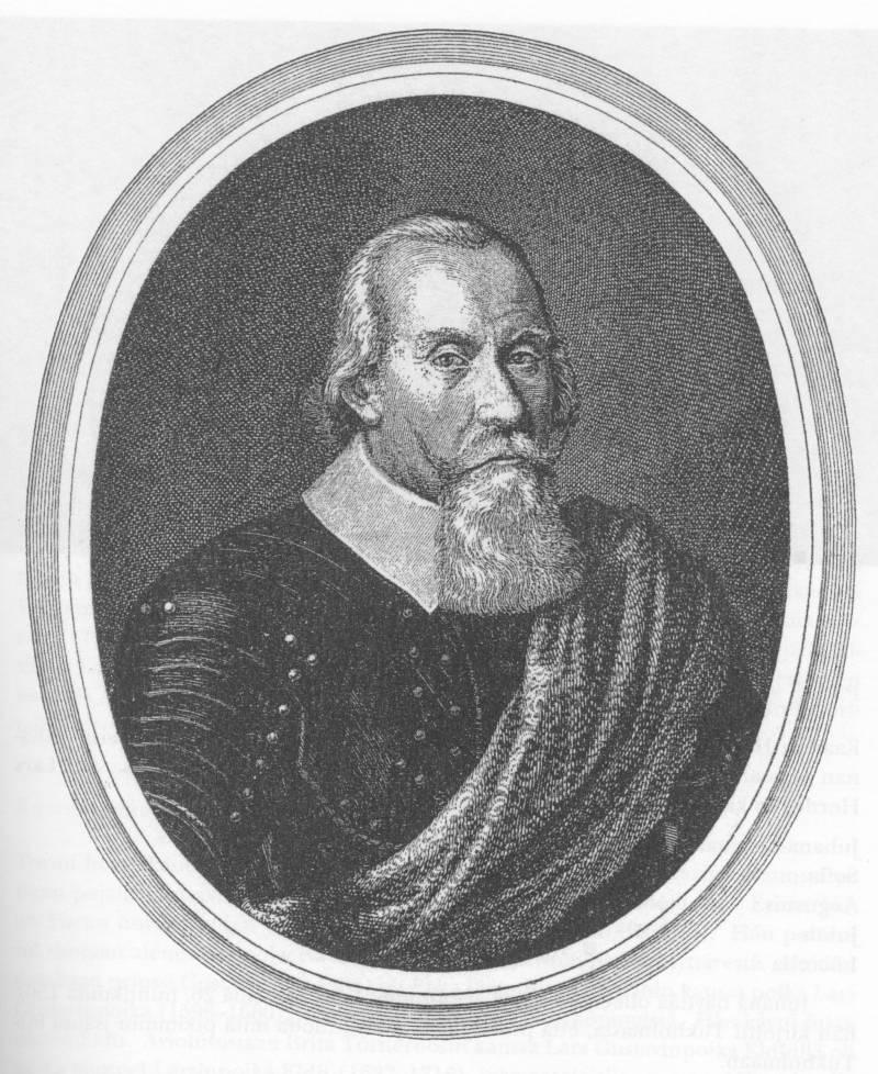 Jacob de la Gardie Jeremias Falckin kuparipiirroksen mukaan.