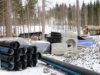 Lamminrahkan vesihuolto täydentyy pala palalta. Kuva otettu maaliskuussa. Kuva: Eija Koivu