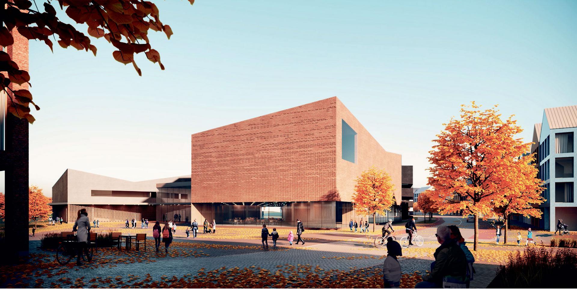 Verstas Arkkitehdit Oy:n Kerkkä-ehdotus voitti Lamminrahkan koulukeskuksen yleisen arkkitehtikilpailun. Kouluun toteutetaan taidetta prosenttiperiaatteella osana investointia.