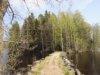Vaikka Lapinsaaren laavu sijaitsee saaressa, sinne pääsee kävellen kannasta pitkin.