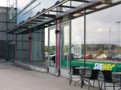 Kierrätyskeskuksen sisustustyöt ovat jo alkaneet Lentolan liikekeskuksessa. Kierrätyskeskus tulee Subwayn naapuriksi.