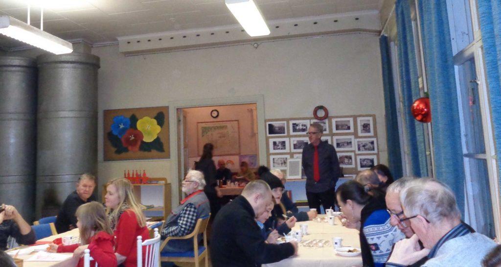 Majaalahden kyläyhdistyksen joulukahveilla juhlittiin myös yhdistyksen 40-vuotispäivää.