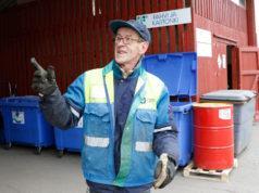 Markku Rajala sanoo jäteaseman kävijämäärä lisääntyneen tasaisesti vuosi vuodelta. – Sahalahden pisteen lakkauttamista seurasi selkeä nousupiikki.