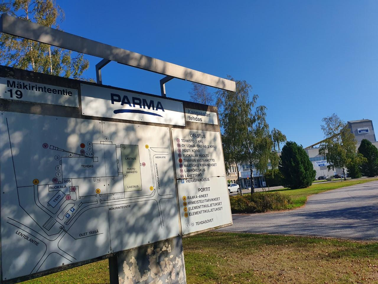 Parma Oy aloitti torstaina Kangasalan tehdasta koskevat yt-neuvottelut.