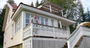 Petri Niemelä löysi Heidi-vaimonsa kanssa perheelleen kakkoskodin Kangasalta.