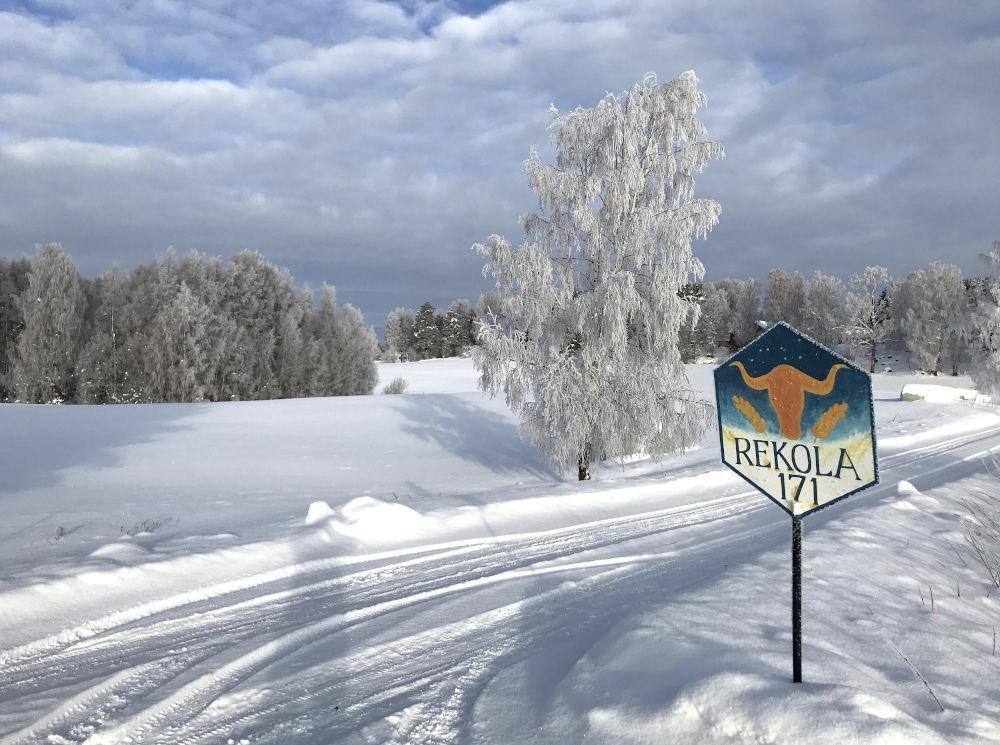 Luonnonkaunis reitti Rekolaan kutsuu kävijöitä. Kuva & konsepti Harjula Production
