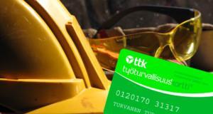 Työturvallisuuskortti on pakollinen rakennusalan töissä sekä isossa osassa muuta teollisuutta.